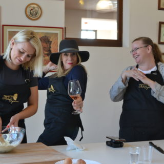 Tinazzi winery cooking class