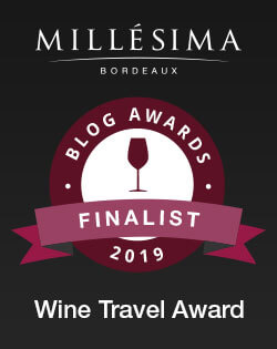 Finalist in 2019 Millesima Blog Awards